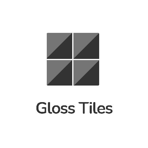 Gloss tiles home icon